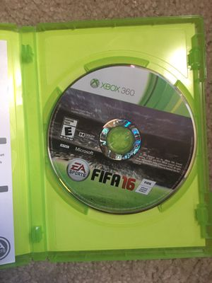 Fifa 16 Xbox 360 game (DOES NOT WORK) for Sale in Cedar Hill, TX