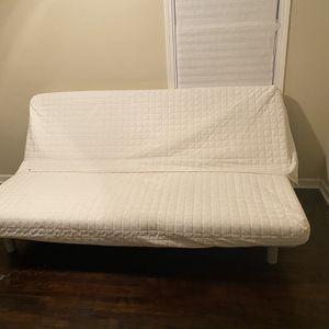 White IKEA futon for Sale in Atlanta, GA