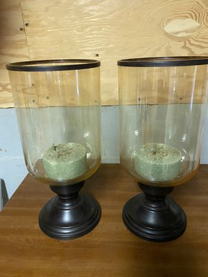 Hurricane candle or plant holders for Sale in Escondido, CA