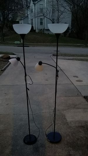 Black pole lamps for Sale in Fort Meade, MD