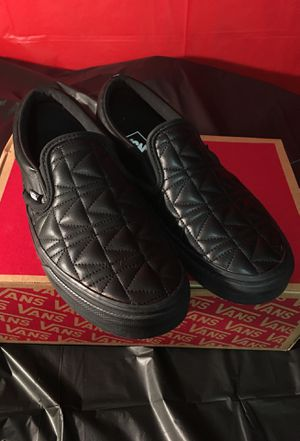 Legendary Karl Lagerfeld Vans Slip-on Tennis Shoes for Sale in Fullerton, CA