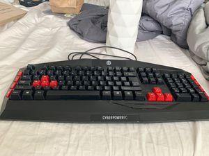 Cyberpower PC Keyboard for Sale in Taylorsville, UT