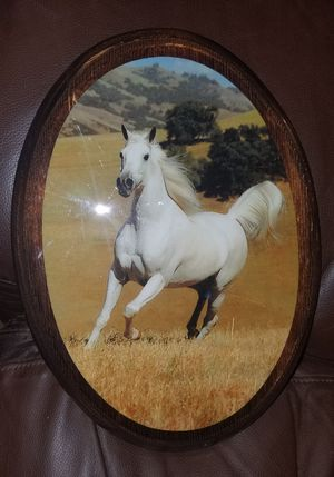 White Horse wooden plaque for Sale in Kirkland, WA