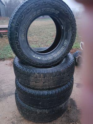 285/70R17 Bridgestone Dueler A/T Revo3 for Sale in San Antonio, TX