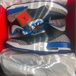 Jordan Sport Blue 3's DS for Sale in Pittsburgh,  PA
