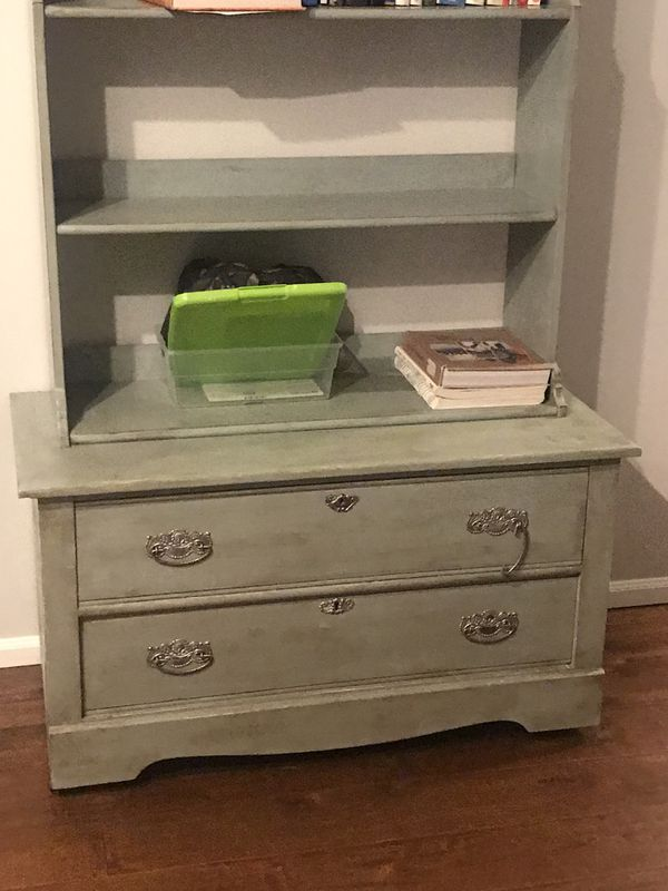 Bookcase & Antique Chest