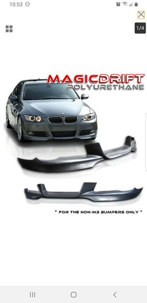 For 07-10 BMW E92 328 335 Coupe OE M Sport Style Polyurethane Front Bumper Lip for Sale in Virginia Beach, VA