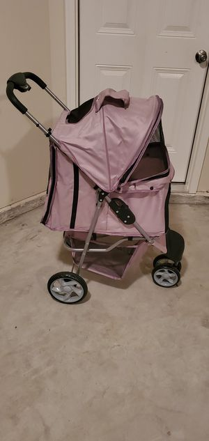 Pink Dog Stroller for Sale in Augusta, GA