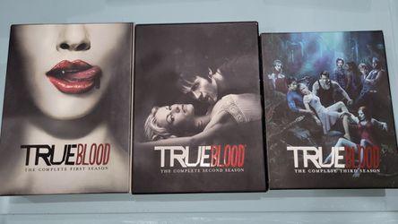 True Blood Season 1, 2, 3 for Sale in El Paso,  TX