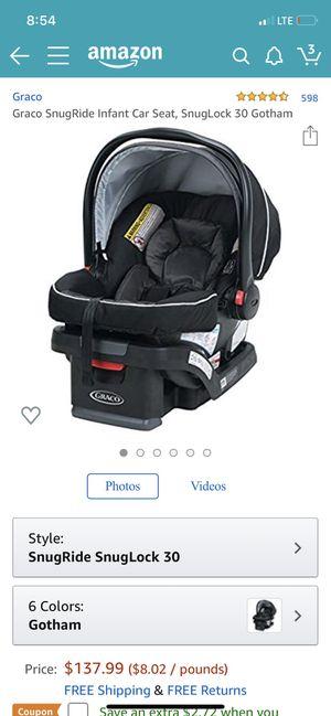 Graco infant car seat for Sale in Bradenton, FL