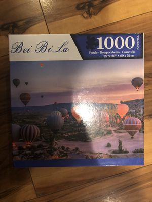 1000 piece jigsaw puzzle for Sale in Catonsville, MD