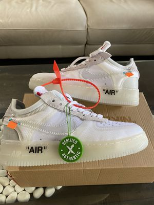 Nikes shoes off-white for Sale in Tampa, FL