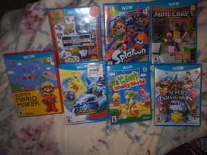 Nintendo Wii U Video Games for Sale in North Richland Hills, TX