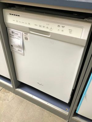 """New White Whirlpool 24"""" Built In Dishwasher 1 Year Manufacturer Warranty Included for Sale in Chandler, AZ"""