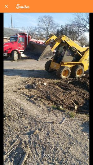 Skid steer and dump truck ready to work for Sale in Humble, TX