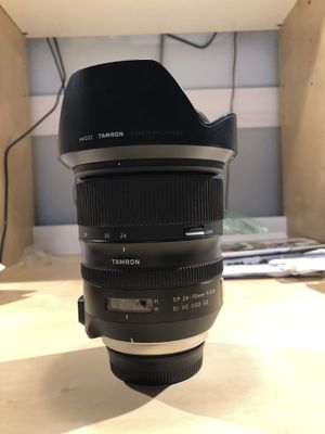 Tamron 24-70 G2 for Nikon for Sale in Lutz, FL