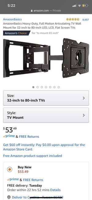 "32""-80"" Tv Mount for Sale in Tucson, AZ"