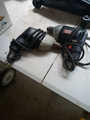 Two corded drills for Sale in Billerica, MA