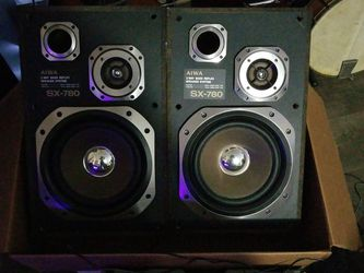 AIWA 2 WAY SPEAKERS LATE 80s for Sale in Apopka,  FL