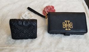 Tory Burch Wristlet wallet with phone holder and small wallet for Sale in Cicero, IL