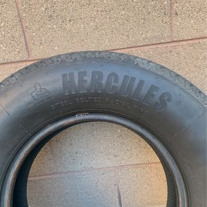 Hercules Trailer Tires / 2 Tires For $50 Size 225/75/15 for Sale in Pomona, CA