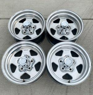 """5X5 Chevrolet Silverado C10 Centerline Convo-Pro aluminum mag rims 15"""" for Sale in San Fernando, CA"""