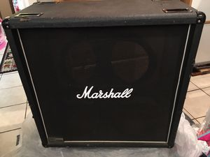 Marshall 1960 412BV Cabinet/Unloaded for Sale in Industry, CA