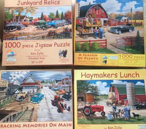game puzzle ken zylla for Sale in Miami, FL
