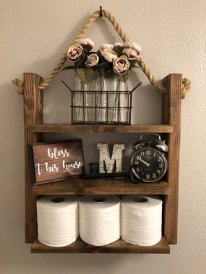 Rustic hanging shelf for Sale in Seattle, WA