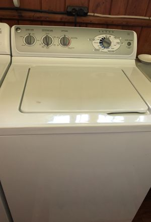 GE TopLoader washer and Dryer for Sale in Traverse City, MI