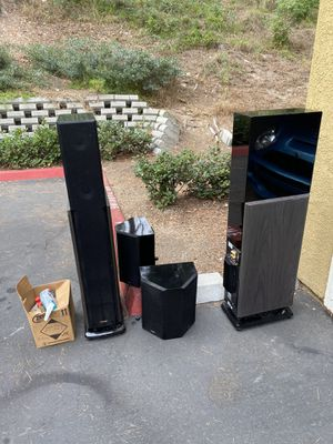 Polk audio home speakers for Sale in San Diego, CA
