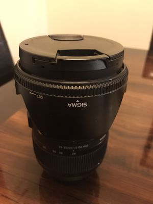 SIGMA 24-35mm f 2 DG (Full Frame) ART LENS CANON EF MOUNT for Sale in Anaheim, CA