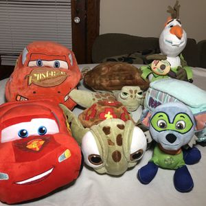 Disney Plush $5 Each for Sale in Tinley Park, IL