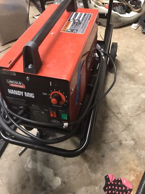 Lincoln Welder with cart for Sale in Fort Myers, FL