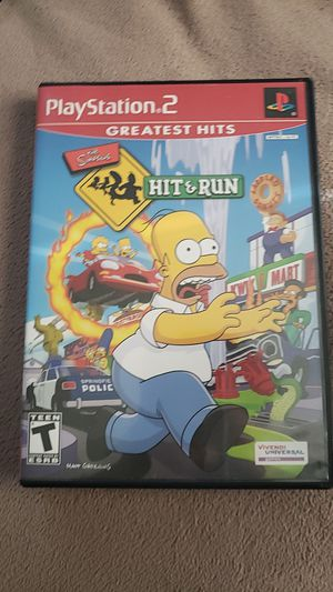 The simpsons hit & run PS2 for Sale in Alexandria, VA