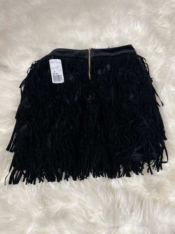 Forever 21 fringe skirt