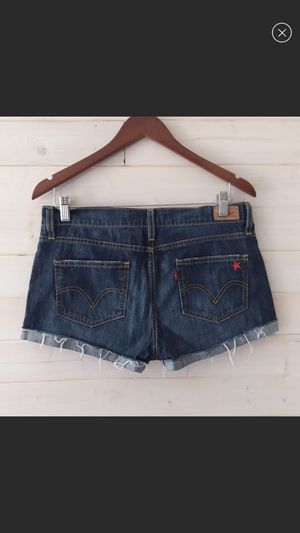 Juniors size 7 Levis jean shorts for Sale in Golden, CO