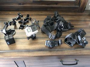 GoPro Hero4 w/ mounting kit for Sale in Denver, CO