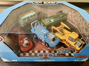 Disney Store Cars Deluxe Cars Hot Rodin SET BUNDLE Hard to Find for Sale in Beaverton, OR