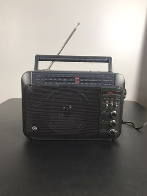 Vintage GE Superadio Am/Fm Long Range Radio Model No. 7-2887A -Tested for Sale in French Creek, WV