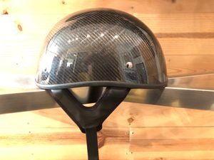 Helmet motorcycle half shell carbon fiber, LARGE for Sale in Long Beach, CA
