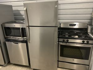 Sets kitchen GE stainless steel for Sale in Ranson, WV
