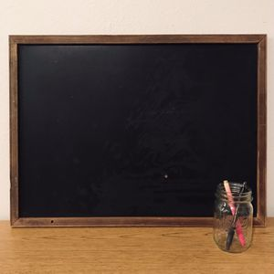 BEAUTIFUL VINTAGE CHALKBOARD WITH WOODEN FRAME for Sale in San Marcos, CA