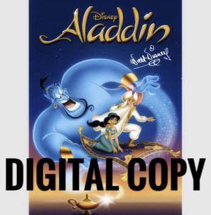 Aladdin digital copy for Sale in Los Angeles, CA