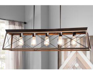 Wayfair Delon 5 - Light Kitchen Island Linear Pendant for Sale in Sunnyvale, CA