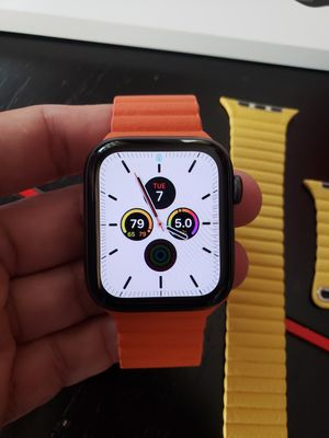 Brand new Apple watch 44mm Series 5 GPS with 4 different colors bands for Sale in Hopkinton, MA