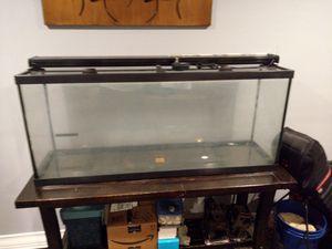 55 gallon aquarium with stand and accessories for Sale in Swedesboro, NJ