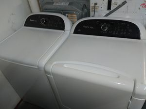 🌄Whirlpool cabrio platinum washer large capacity dryer electric nice set🌅 for Sale in Houston, TX