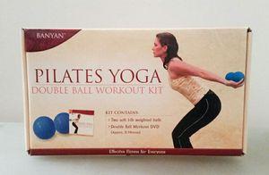 Pilates Yoga: DVD + Two (1 lb.) Balls for Sale in Arlington, VA