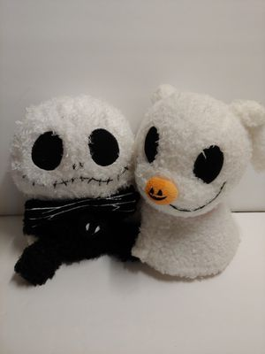 Disney Parks Baby Jack Skellington and zero Plush Nightmare Before Christmas for Sale in Santa Ana, CA